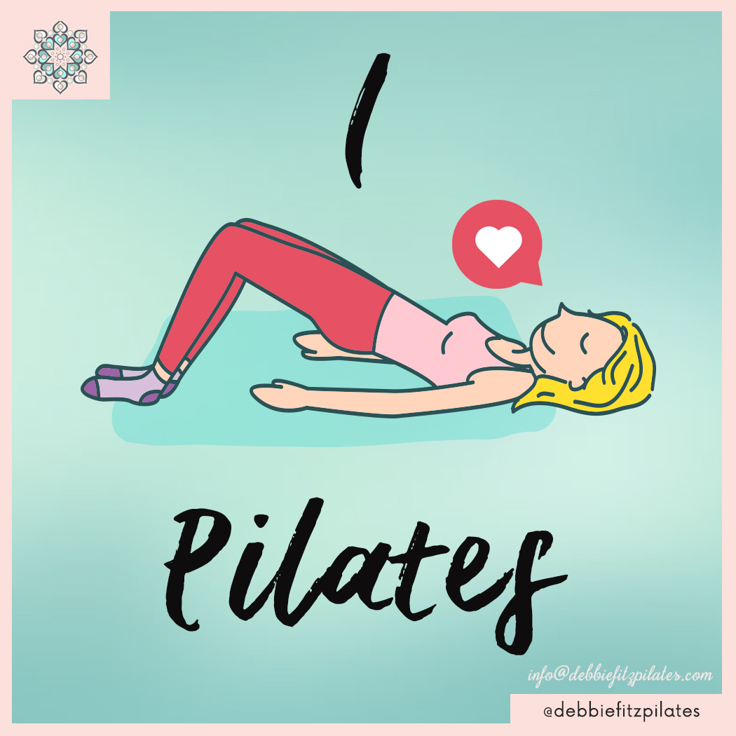 social media management portfolio: pilates classes