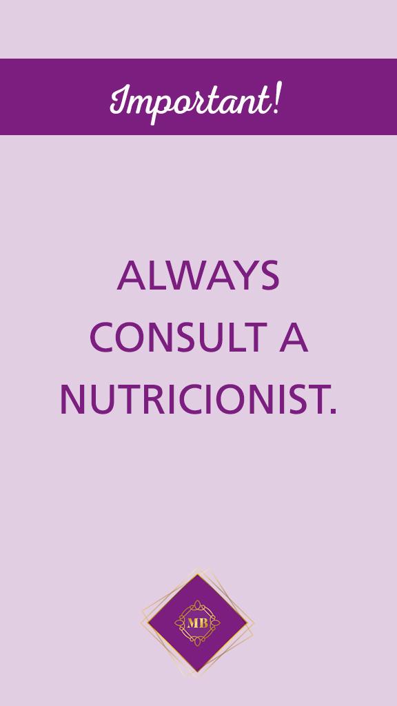 portfolio: nutricionist