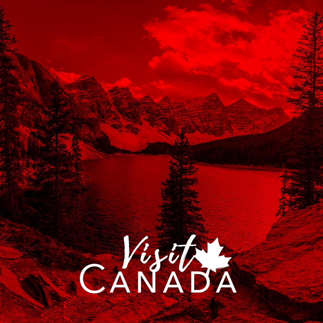 social media portfolio: visit canada