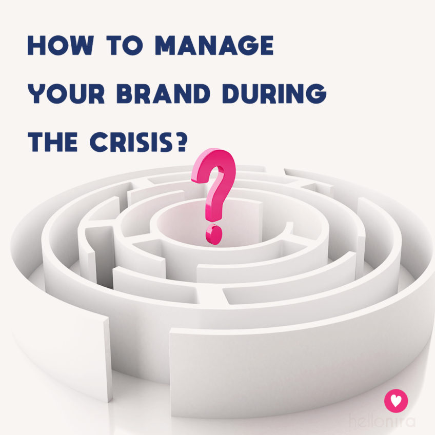 Crisis management: how should your brand fight Coronavirus?