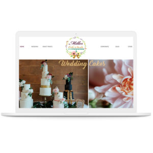 Cake website development